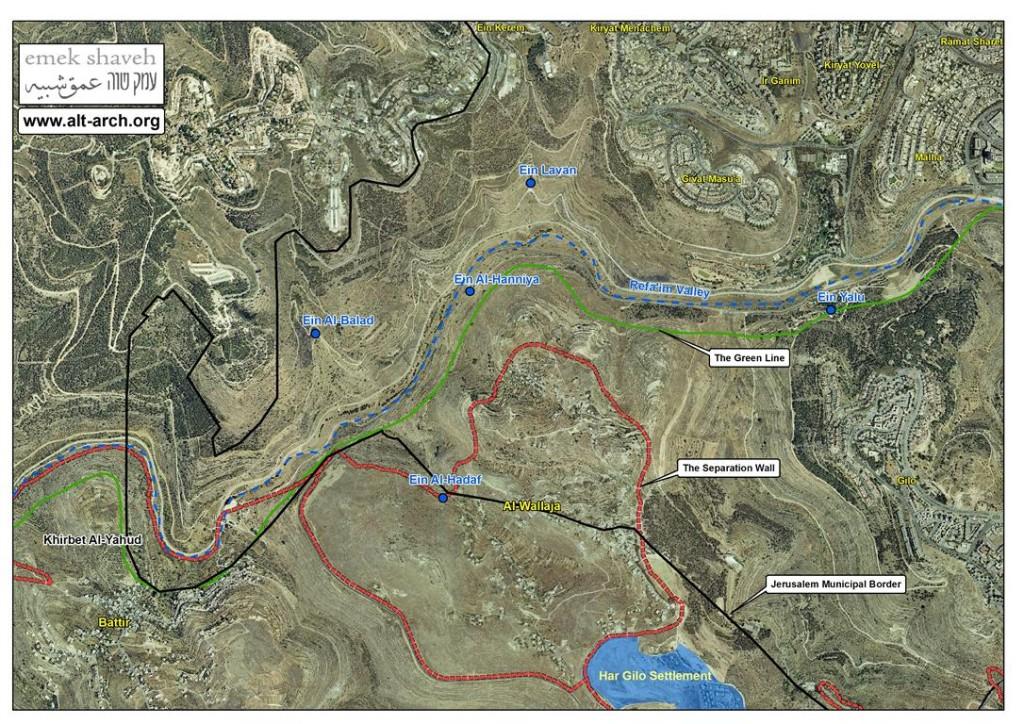 Refaim valley by Emek Shaveh (Medium)