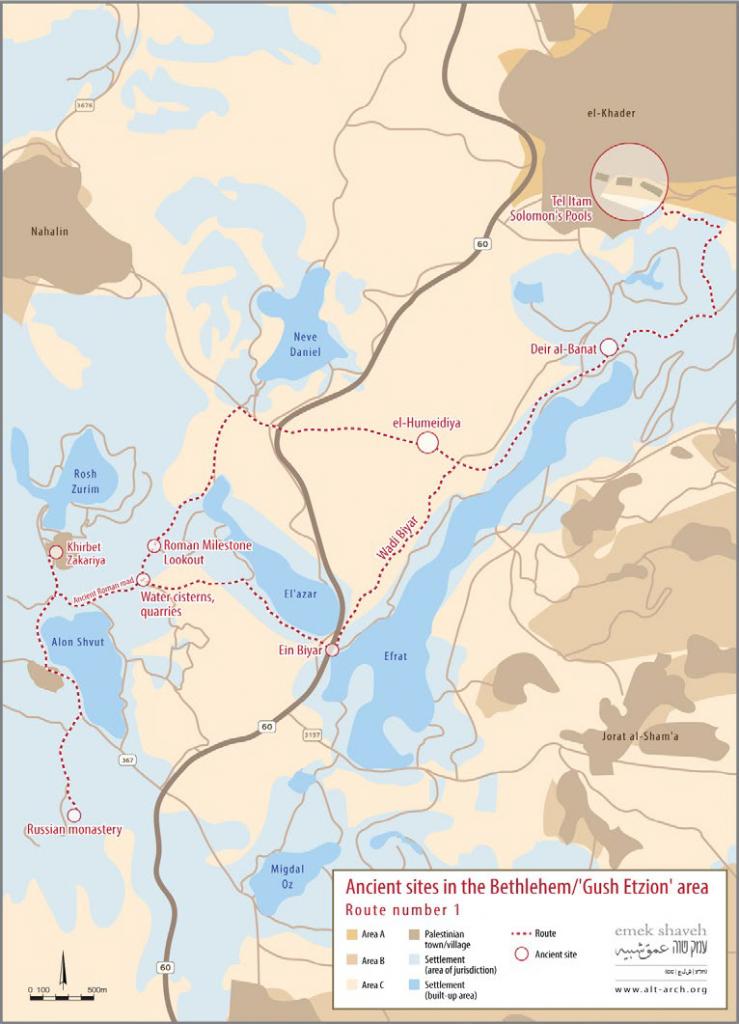 gush etzion map 1 eng