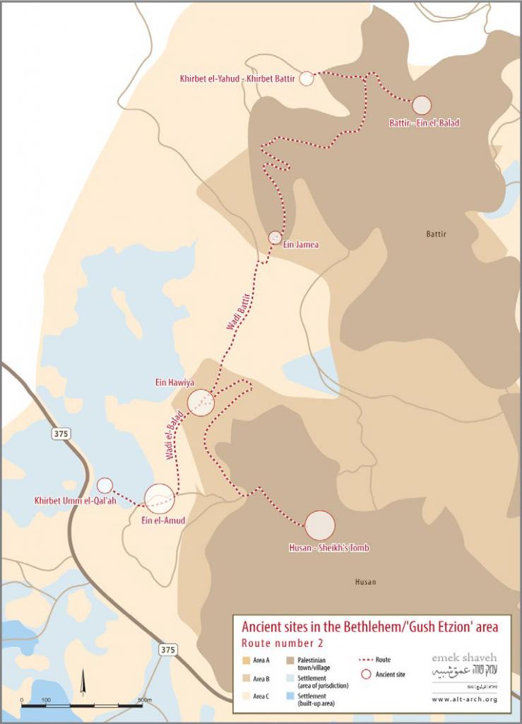 gush etzion map 2 eng