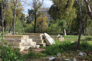 1 Mamilla tombs view south