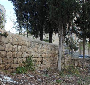 1b Mamilla old wall