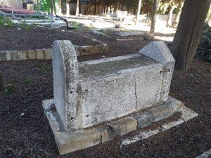 6 Mamilla tomb sarcophagus