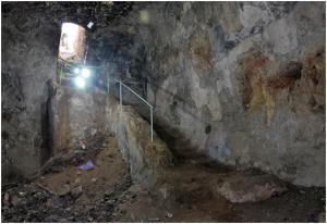 mamilla cistern stairs